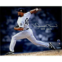 """Mariano Rivera Signed New York Yankees """"Pitching"""" 8x10 Photo Inscribed """"HOF 2019"""" (Steiner COA) at PristineAuction.com"""