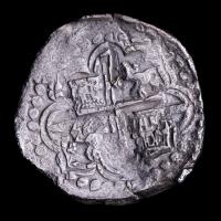 Atocha Shipwreck - (1598-1621) Philip III Bolivia 8 Reales (23.60g) Silver Coin, Grade Two (2) (Mel Fisher COA & Assayer)