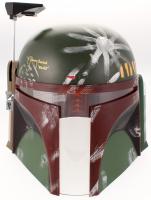 """Jeremy Bulloch Signed Star Wars """"Boba Fett"""" Full-Size Helmet Inscribed """"Boba Fett"""" (JSA COA)"""
