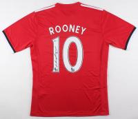 Wayne Rooney Signed Manchester United Adidas Jersey (Beckett COA)