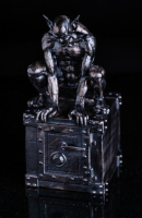 13 oz Antique Finish Godric the Gargoyle Silver Statue (New, Box + CoA)