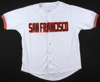 Will Clark Signed San Francisco Giants Jersey (Beckett COA) at PristineAuction.com