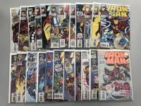 Lot of (83) 1977-1996 Iron Man Marvel Comic Books