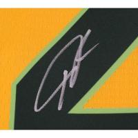 Giannis Antetokounmpo Signed Milwaukee Bucks Yellow City Edition Nike Jersey (Fanatics Hologram) at PristineAuction.com