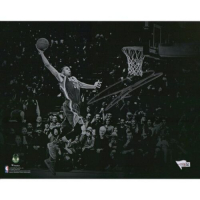 "Giannis Antetokounmpo Signed Bucks ""Dunking Spotlight"" 11x14 Photo (Fanatics Hologram) at PristineAuction.com"