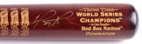 "David Ortiz Signed LE Boston Red Sox ""3X W.S.C."" Engraved Louisville Slugger Baseball Bat (Steiner COA & MLB Hologram & Fanatics Hologram)"