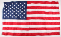 American Flag Flown over the Capitol on July 4, 2017 (Architect of the Capitol COA)