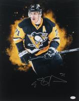 Evgeni Malkin Signed Pittsburgh Penguins 16x20 Photo (TSE COA)