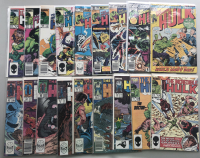 Lot of (35) 1962-1999 Marvel Incredible Hulk Comic Books