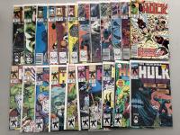 Lot of (46) 1962-1999 Marvel Incredible Hulk Comic Books