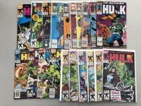 Lot of (38) 1962-1999 Marvel Incredible Hulk Comic Books