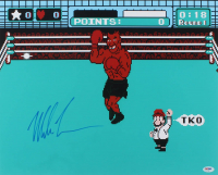 "Mike Tyson Signed ""Mike Tyson's Punch-Out!!"" 16x20 Photo (PSA COA)"