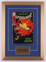 "Vintage 1969 ""The Amazing Spider-Man"" Issue #72 Marvel 14x19 Custom Framed Comic Book"