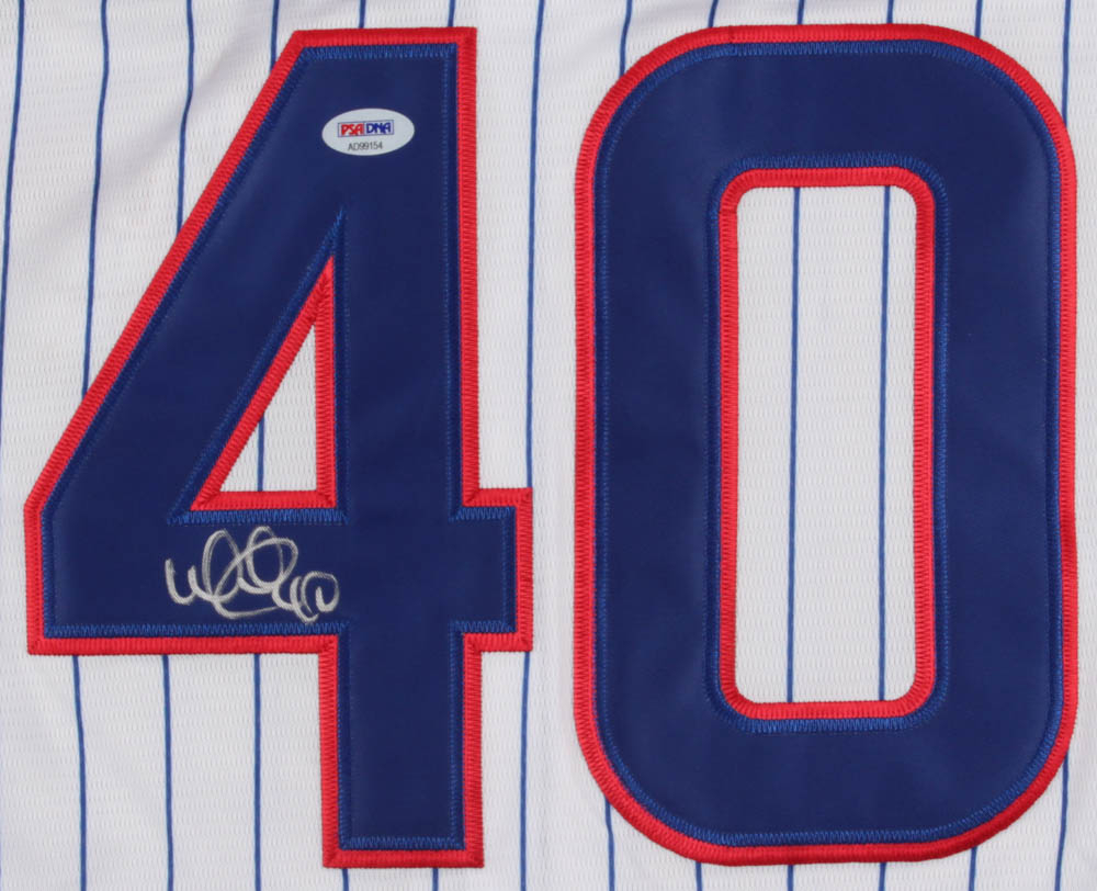 62eab17f09a Willson Contreras Signed Chicago Cubs 2018 All-Star Game Majestic Jersey (PSA  COA)