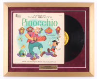 "Walt Disney's ""Pinocchio"" 18x22 Custom Framed Vinyl Record Album Display"