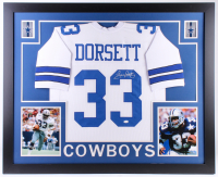 Tony Dorsett Signed Dallas Cowboys 35x43 Custom Framed Jersey (JSA COA) at PristineAuction.com