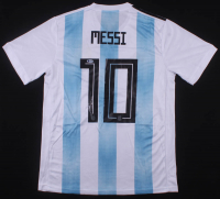 "Lionel Messi Signed Argentina Adidas Jersey Inscribed ""Leo"" (Beckett COA)"