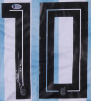 "Lionel Messi Signed Argentina Adidas Jersey Inscribed ""Leo"" (Beckett COA) at PristineAuction.com"