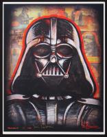 "David Lizanetz Signed LE ""Dark Side II"" Star Wars 11"" x 14"" Art Print (PA COA)"