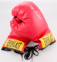 Muhammad Ali Signed Everlast Boxing Gloves (JSA LOA)