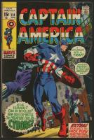 "Vintage 1970 ""Captain America"" Issue #124 Marvel Comic Book"