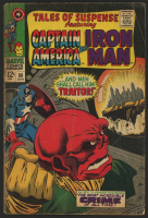 "Vintage 1967 ""Tales of Suspense: Captain America & Iron Man"" Issue #90 Marvel Comic Book"