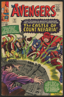 """Vintage 1964 """"The Avengers"""" Issue #13 Marvel Comic Book"""
