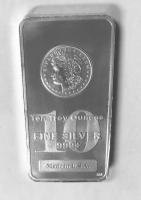 10 oz. .999 Fine Silver Morgan Bullion Bar