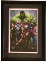 """Marvel """"Avengers"""" 12x18 Custom Framed Lithograph Display"""
