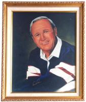 Arnold Palmer Signed 20x24 Custom Framed Photo Display (Beckett LOA)