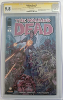 "Neal Adams Signed 2013 ""The Walking Dead"" Issue #1 Limited Edition Wizard World Comic Con Variant Image Comic Book with Sketch (CGC Encapsulated - 9.8)"