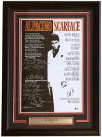 """Scarface"" 18x26 Custom Framed Photo Display Signed by (10) withl Pacino, Robert Loggia, Steven Bauer, Miriam Colon, Angel Salazar (Beckett LOA)"