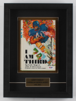 "LeRoy Neiman Signed ""I Am Third by Gale Sayers"" 11.5x15.75x2 Custom Framed Book Shadowbox Display (PSA COA)"