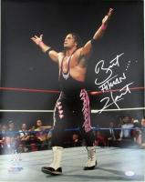 "Bret ""Hitman"" Hart Signed WWE 16x20 Photo (JSA COA)"