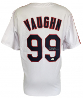 "Charlie Sheen Signed ""Major League"" Rick Vaughn Jersey (JSA COA)"