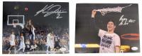 Lot of (2) Villinova Wildcats Signed 8x10 Photos with (1) Kris Jenkins & (1) Ryan Arcidiacono (JSA COA)