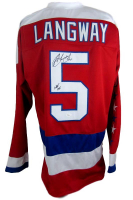 "Rod Langway Signed Washington Capitals Jersey Inscribed ""HOF 02"" (JSA COA)"