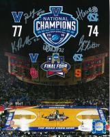 2016 National Champions Villanova Wildcats 8x10 Photo Team-Signed by (5) with Ryan Arcidiacono, Kevin Rafferty, Daniel Ochefu, Hank Lowe & Patrick Ferrel (JSA COA)