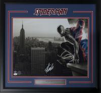 """Stan Lee Signed """"Spider-Man"""" 22x27 Custom Framed Photo Display (JSA & Lee Hologram)"""