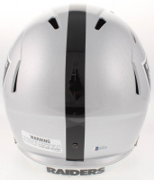 Charles Woodson Signed Oakland Raiders Full-Size Speed Helmet (Beckett COA) at PristineAuction.com