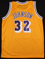Magic Johnson Signed Los Angeles Lakers Jersey (Beckett COA)