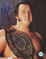 The Honky Tonk Man Signed WWF 8x10 Photo (Fiterman Sports Hologram)