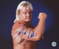 Greg Valentine Signed WWF 8x10 Photo (Fiterman Sports Hologram)