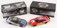Lot of (2) Dale Earnhardt Jr. LE 1:24 Scale Die Cast Cars with (1) Signed #88 Kelley Blue Book 2015 SS & (1) #88 Axalta 20176 SS Elite (RCCA COA)
