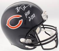 886e59a45 Brian Urlacher Signed Chicago Bears Full-Size Helmet Inscribed