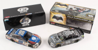 Lot of (2) Dale Earnhardt Jr. LE 1:24 Scale Die Cast Cars with (1) Signed #88 Nationwide Patriotic 2017 SS & (1) #88 Nationwide Batman 2016 SS (RCCA Hologram)