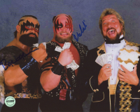 The Barbarian & The Warlord Signed WWF 8x10 Photo (Fiterman Sports Hologram)