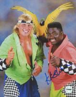 Koko B. Ware Signed WWF 8x10 Photo (Fiterman Sports Hologram)