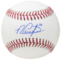 Michael Conforto Signed OML Baseball (MLB Hologram)