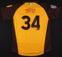 "David Ortiz Signed Boston Red Sox 2016 American League All-Star Game Jersey Inscribed ""10x All-Star"" (Steiner COA & MLB Hologram & Fanatics Hologram) at PristineAuction.com"